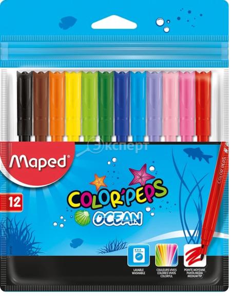 MAPED flomaster OCEAN 1/12