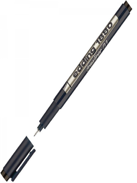 Edding 1880 Drawliner Pen - crni 0.1