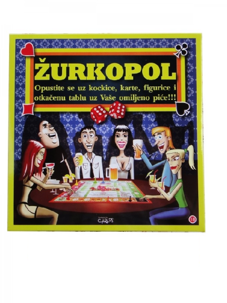 Društvena igra Žurkopol
