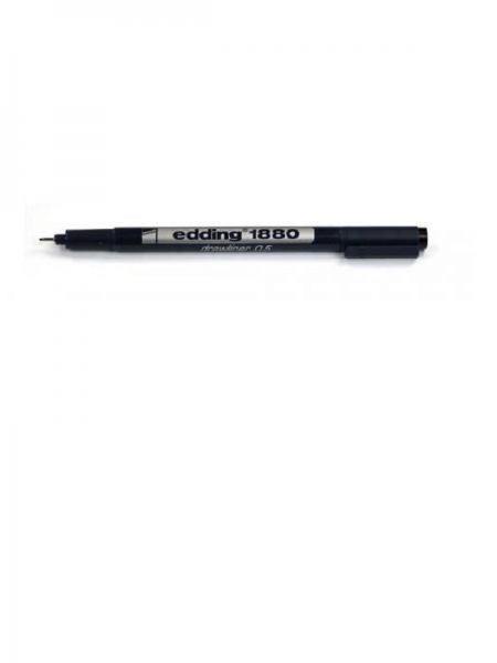 Edding 1880 Drawliner Pen - crni 0.5