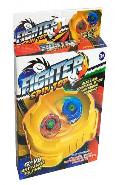 FIGHTER SPIN TOP