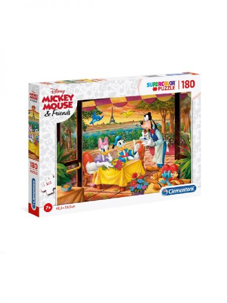 PUZZLE CLEMENTONI 180kom MICKEY MOUSE-FRIENDS